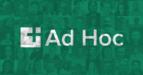 Ad Hoc Company Website Logo